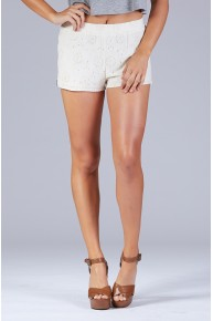 At The Hip Side Zip Shorts