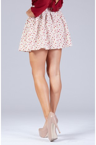 All About Flowers Skirt