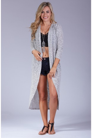 Sweater Knit Duster Cardigan