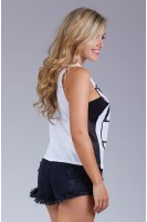 NYLA Muscle Tank in White