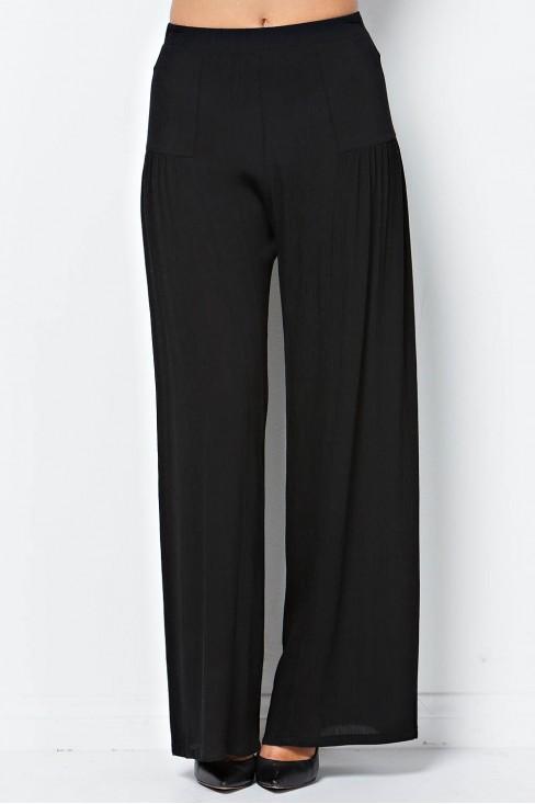 Wide Leg Pant in Black